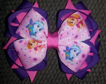 Skye Everest Paw Patrol Stacked Boutique Bow