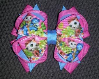 Sheriff Callie Handmade Stacked Boutique Bow