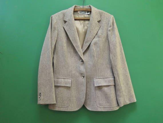 En Années Vintage Villageois 70 12 Des un Taille Blazer Femmes XxwqOA