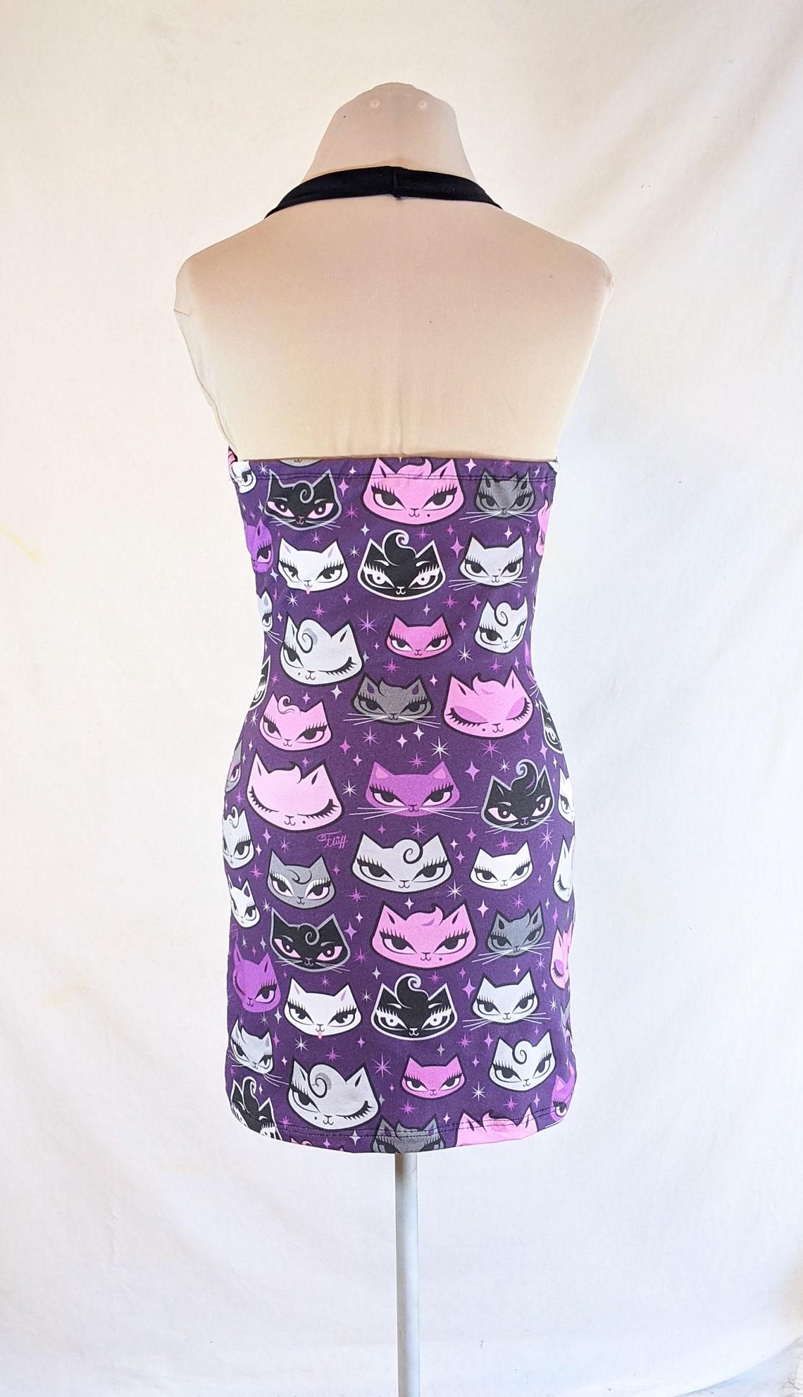 Rockabilly punkabilly psychobilly 50's style halter dress
