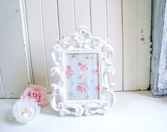 Blush Ornate 5 X 7 Picture Frame Wedding Table Number Frame Etsy