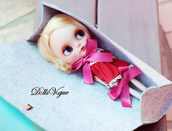 """1PC  /""""Bunny Ears/"""" Hat For 12/"""" Takara Neo  Blythe Doll  Nude Doll From Factory"""