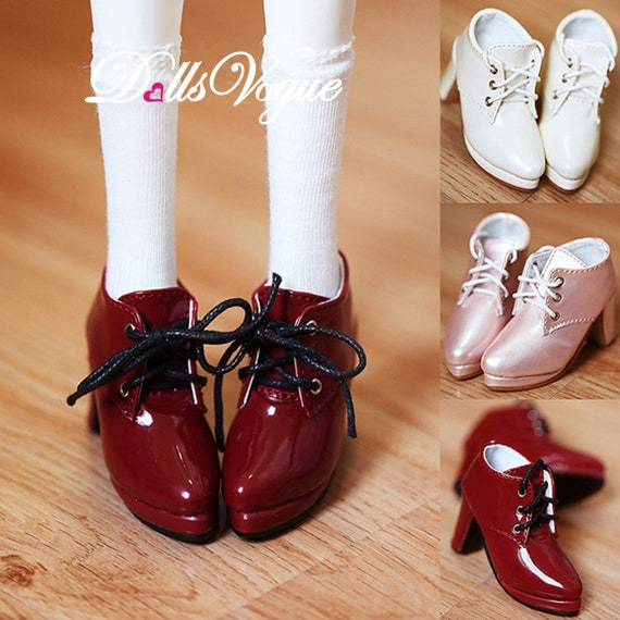 1//3 SD10//13//GR//DD BJD Doll Shoes Long Leather Boots High Heels AOD Multi-colors