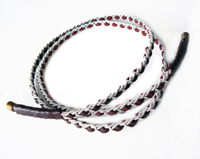No. 4001: Pewter Lanyard for glasses