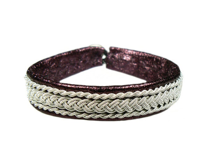 No. 1008: Pewter bracelet
