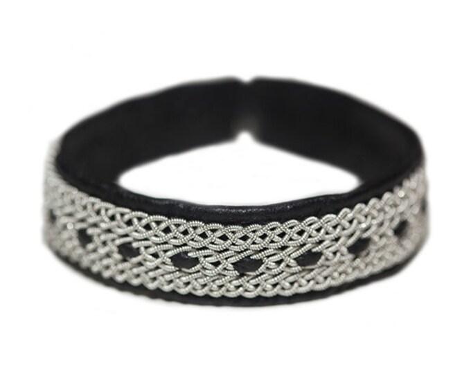 No. 1051: Pewter bracelet