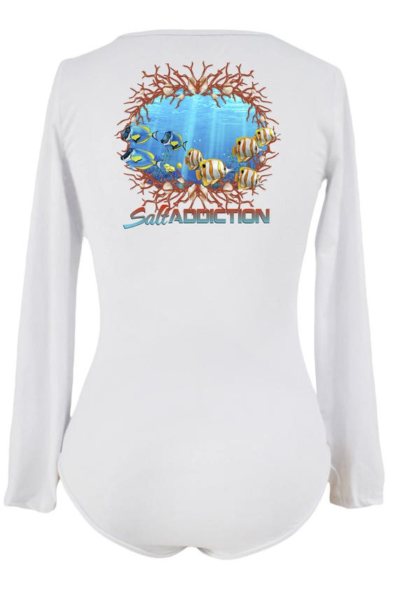 Salt Addiction Saltwater Fishing short sleeve t shirt permit flats snook