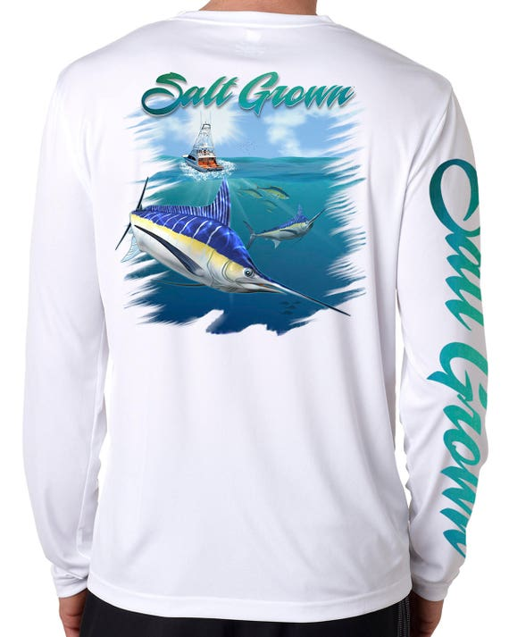 Salt Addiction Fishing t shirt,Saltwater,Ocean,marlin,life,offshore