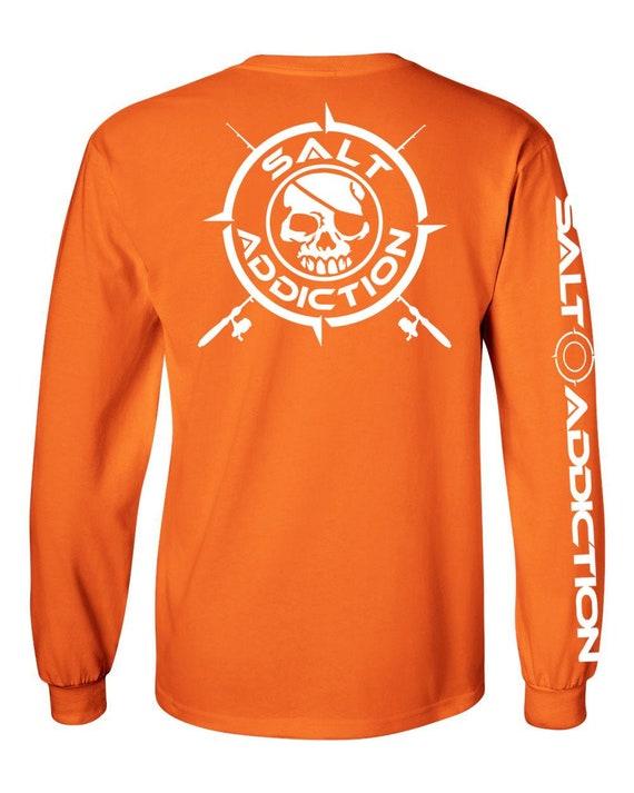 50/% Off Guy Harvey Black Magic Marlin LS Tee Fishing Shirt-White-Free Shipping