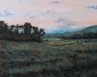 Original Oil Painting,Landscape Painting,Oil on Panel,Tonalist Landscape,Impressionist Landscape,Nature Inspired,Gregory Arnett,2009-0116