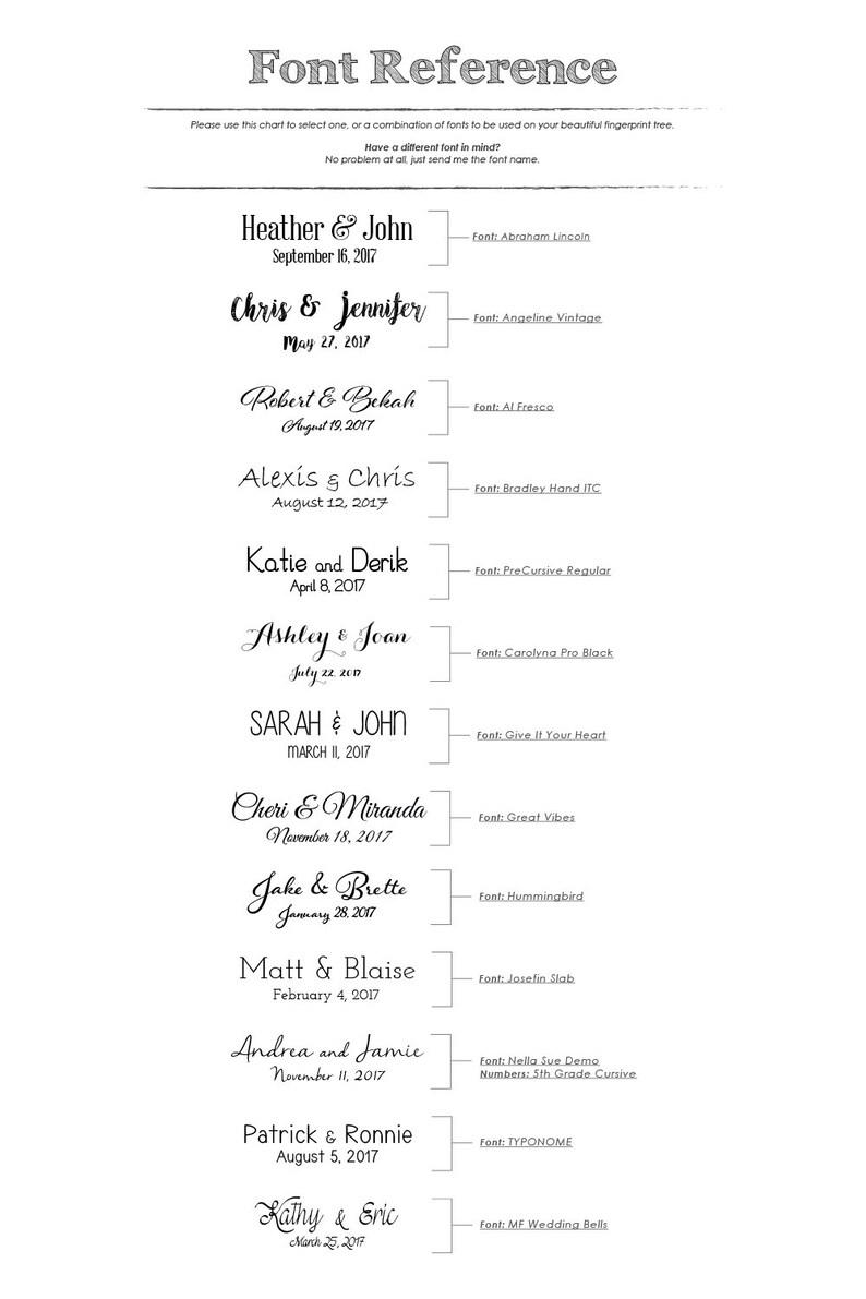 custom handmade 1 ink pad Small Ink Oak for 15-85 guests rustic wedding guest book alternative Fingerprint tree unique thumbprint