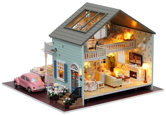 DIY Handcraft Miniature Dolls House My Little House in Queenstown New Zealand