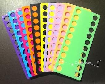 Plastic Embroidery Floss Thread Organizer Sorter 20 Holes - 15mm