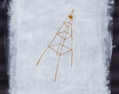 TOWER by #anafrois . digital print