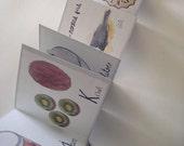 The Bland Food Alphabet (concertina book)