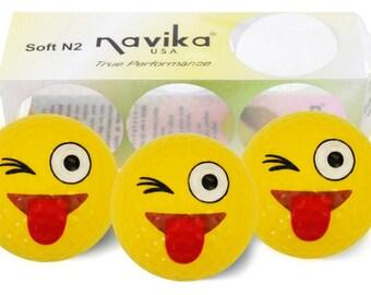Emoji JK Imprinted Golf Balls