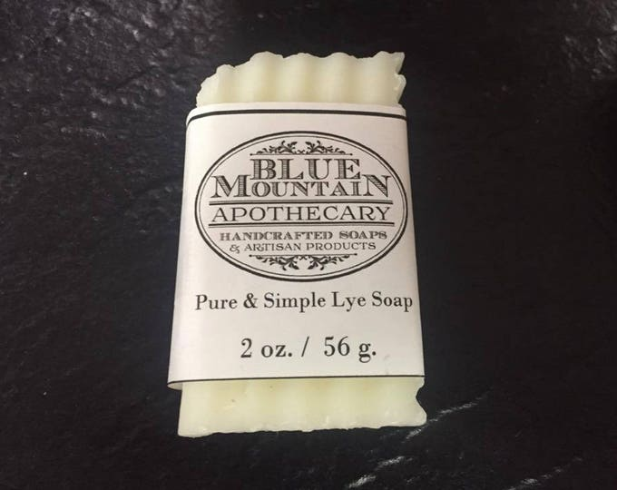 Pure & Simple Handmade Lye Soap