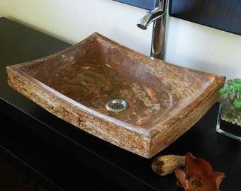 Stone Sink | Etsy