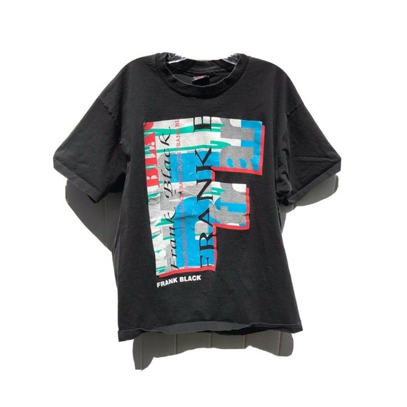 1993 Vintage Frank Black Pixies Concert Tour Tee V