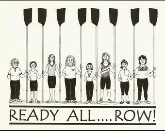 Box of Ready All ... Row! cards