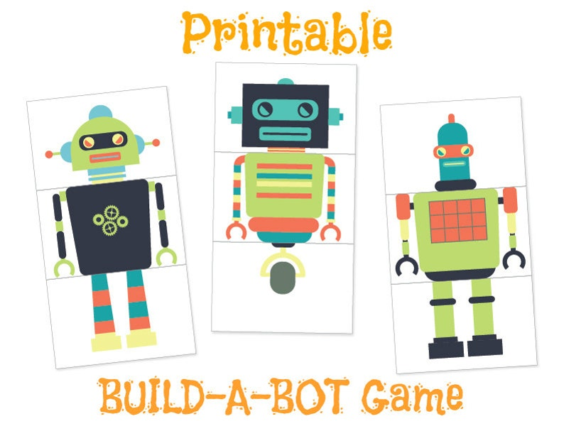 graphic regarding Printable Robot identified as Robotic Printables, Robotic Social gathering, PRINTABLE, Robotic Sport, Robotic Birthday Birthday Printables, Labels, Celebration Sport, Boy or girl Shower, Robotic Topic, Child