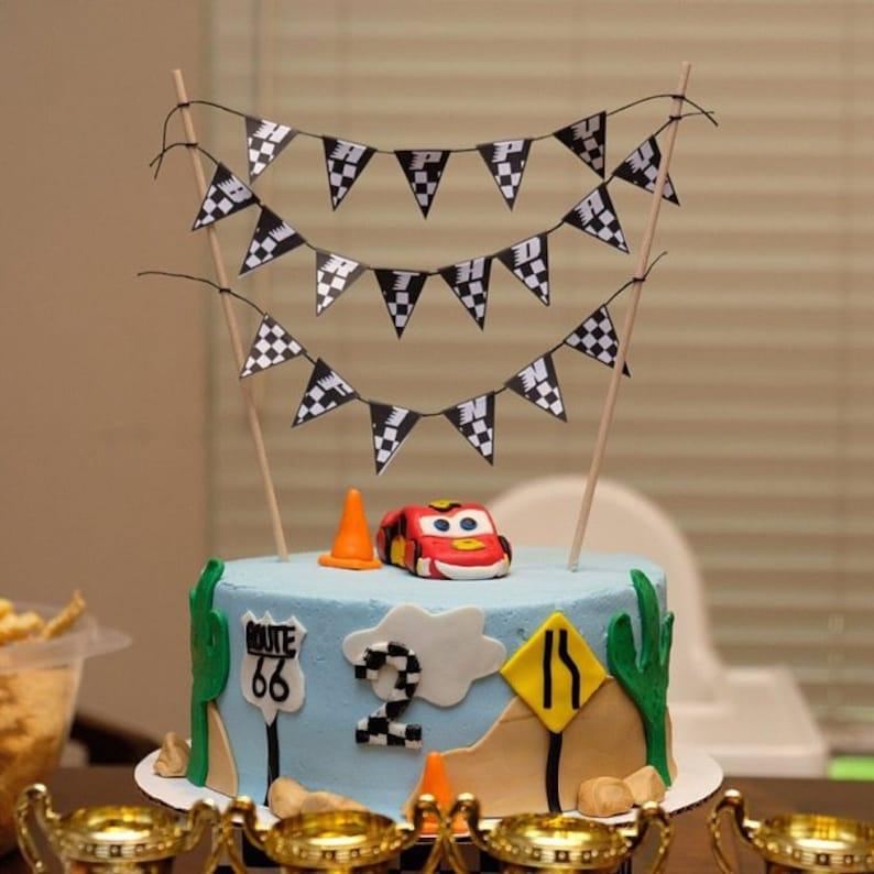 photo regarding Cake Banner Printable identify 50% OFF Sale, Birthday Cake Banner, PRINTABLE Cake Topper, Checker Banner, Race Auto Banner, Race Vehicle Printable, Race Motor vehicle Bash, Motorcross