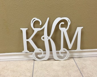 Nice Monogram Wall Art, Wall Hanging, Letters For Nursery, Wooden Monogram  Initials, Dorm Room Decor, Wedding Guest Book Sign, All Sizes Letters