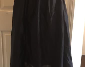 Vintage black petticoat medium