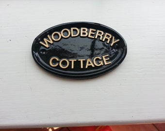 Personalised Size 2 Name Plaque, Any Message, Any Name, Playhouse, Home Bar,