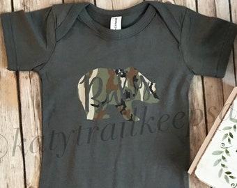 Baby Bear Bodysuit//Baby Boy Bodysuit//Graphic Bodysuit//New Baby Gift//Baby Shower Gift//Baby Clothes