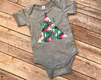 New To The Tribe Bodysuit//Baby Girl Bodysuit//Graphic Bodysuit//New Baby Gift//Baby Shower Gift//Baby Clothes