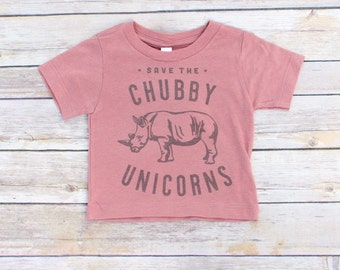 Save the Chubby Unicorns//Baby Girl Shirt//Funny Baby Clothes//New Baby Gift//Baby Shower Gift//Animal Lover Gift//Funny Baby Shirt