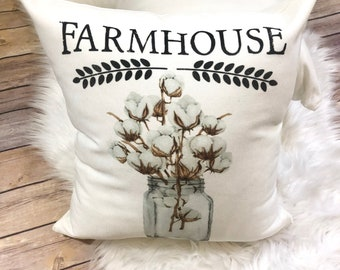 Farmhouse Pillow, Farm Style Pillow, Farmers Best Pillow, Farm Decor, Phrase Pillow, Quote Pillow, Cottage decor, Rustic Decor