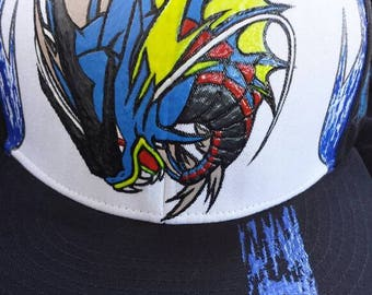e57f74fcd96 New DSGNR  Trainers Edition Gyarados SnapBack Exclusive   Promotional  shipping Priced