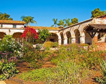 Mission San Juan Capistrano, Landscape Photography, California Missions, Missions,  California, San Juan Capistrano, Historic Landmark