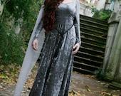 Silver Elven Style - Ravenswing Dress