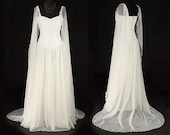 Avalon Dress - Elven Style Bridal/Handfasting Gown