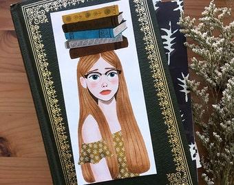 wildflower bookmark