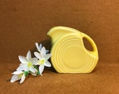 Fiestaware Minature Yellow Disk Picture
