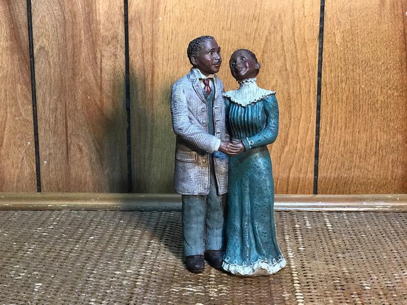 Sarah\u2019s Attic Love of My Life Figurine African American Couple LE