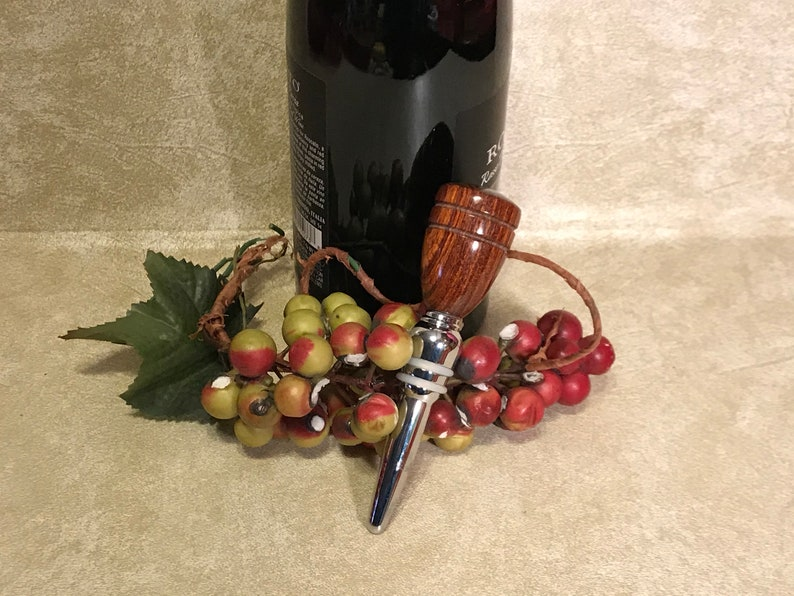 Wood Turned Handcrafted Wine Stoppers