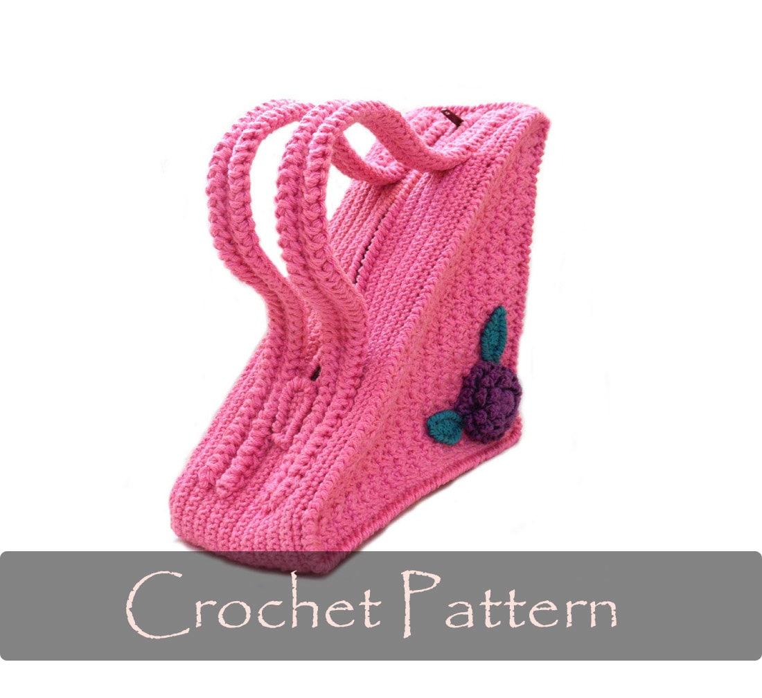 Crochet Pattern Unique Bag Crochet Pattern Triangle Purse Etsy