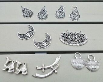 Wholesale lot of Boho jewelry bits