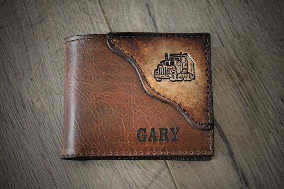 neuesten Stil suche nach original Großhändler Trucker-Geldbörse, Portemonnaie für einen LKW-Fahrer, achtzehn Wheeler  Brieftasche, halb LKW Brieftasche