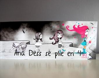 "Comic book : ""Ana Dess se plie en 4"" - Tome 2 - Short stories"