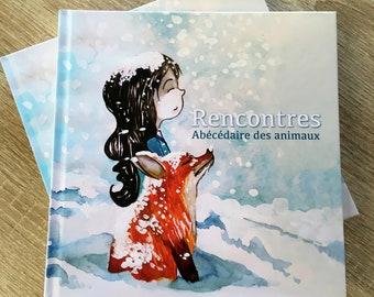 Rencontres - Abécédaire des animaux - Children's illustration book