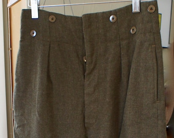 Vintage Canadian Military Trouser