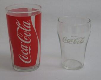 Vintage Libbey Enjoy Coke Drink Coca-Cola Glass