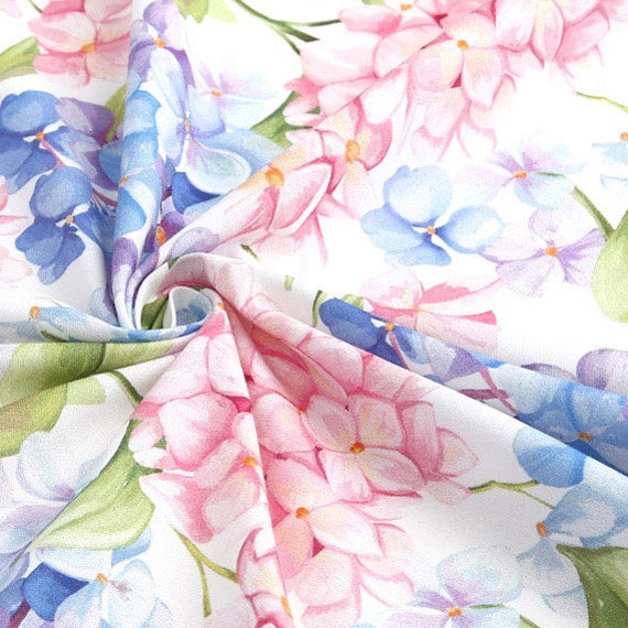 Cotton Fabric Flower Fabric by the Yard 44 Wide SY de rebeta