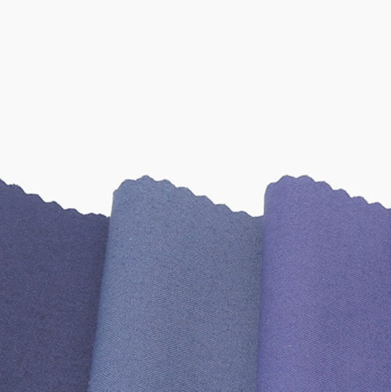 Combed Cotton Fabric Solid Fabric by the Yard 44 Wide SY zen color group15